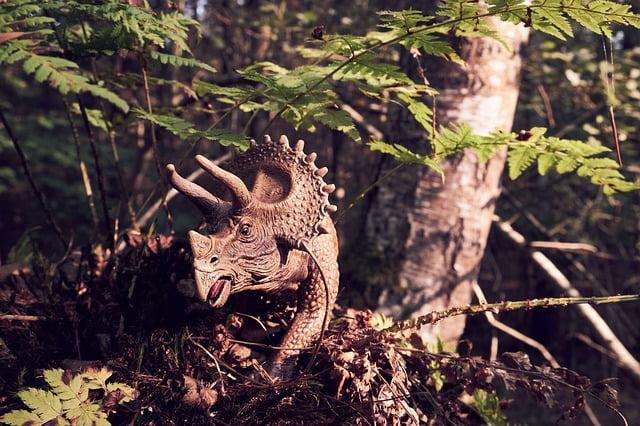 triceratops extintos