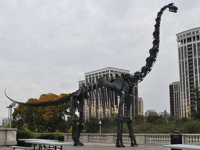 cómo era el braquiosaurio