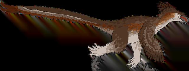 tenía plumas el velociraptor